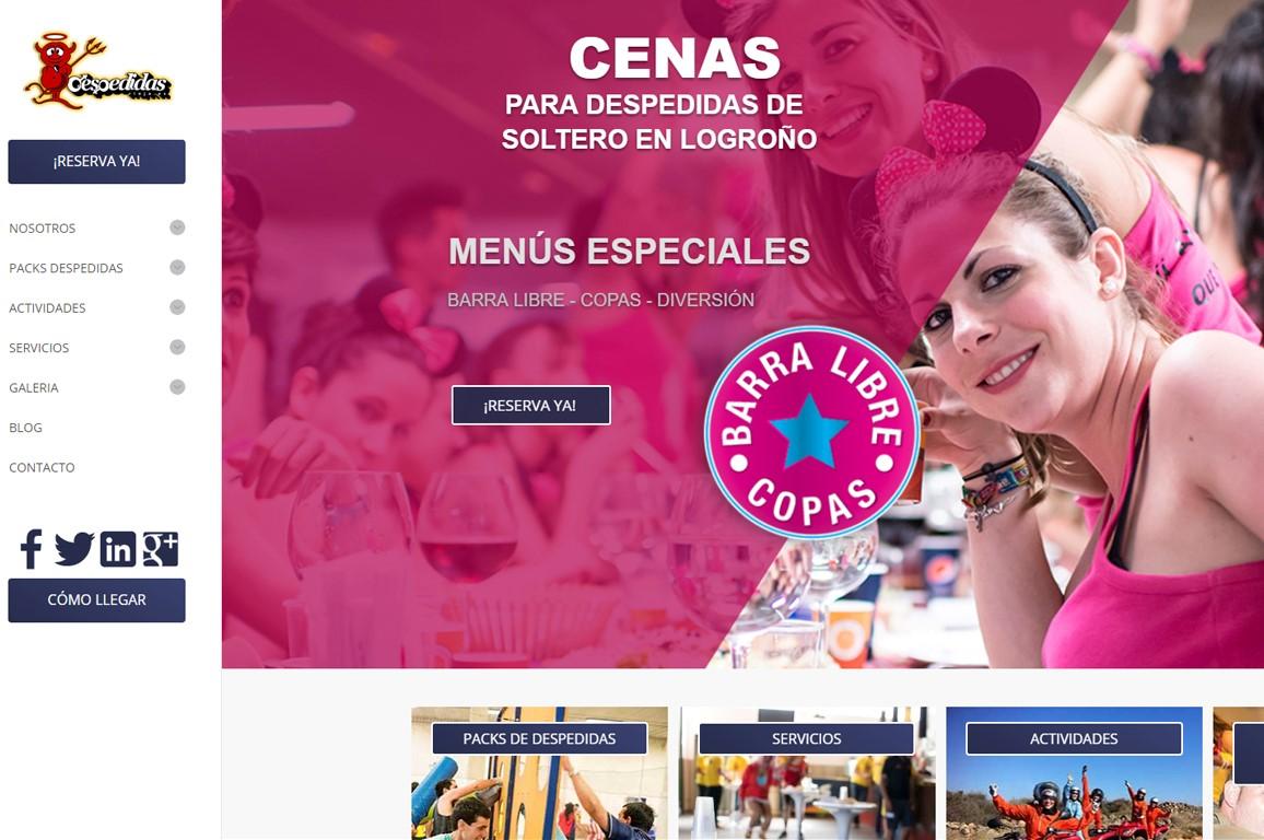 001 Diseño Web Logroño Desarrollo Web Despedidas Rioja