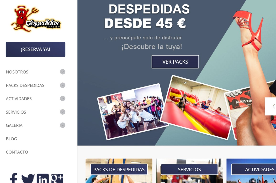 003 Diseño Web Logroño Desarrollo Web Despedidas Rioja