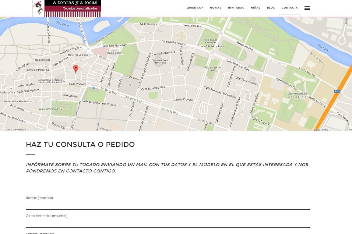 006 Diseño Web A tontas y a locas Logroño La RIoja