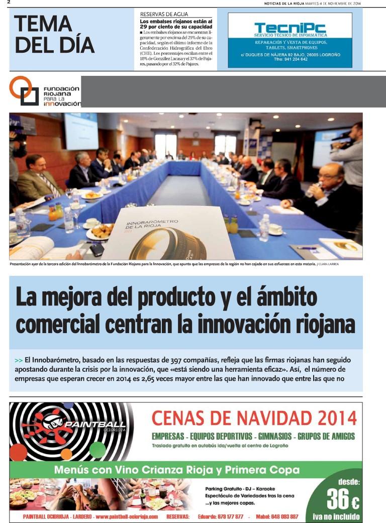 Agencia de publicidad - Campañas publicitarias periódicos - Equiza Comunicación - Logroño - La Rioja