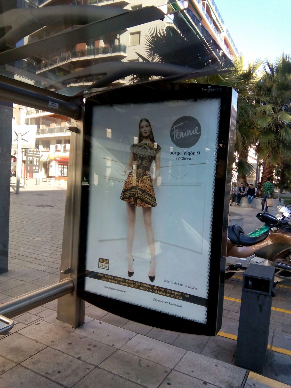 Agencia de publicidad - Campañas publicitarias mupis - Equiza Comunicación - Logroño - La Rioja