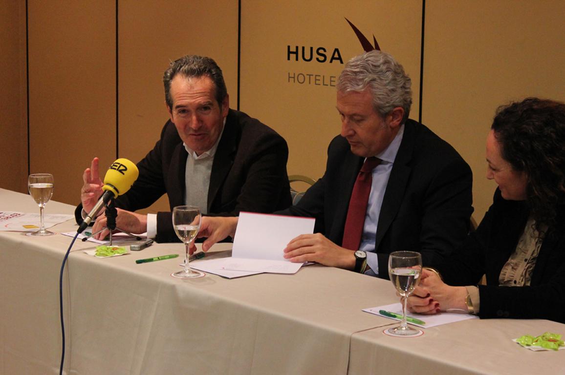 Gabinete de Prensa - Foto del servicio de organización de ruedas de prensa en un hotel de Logroño - Equiza Comunicación - Logroño - La Rioja