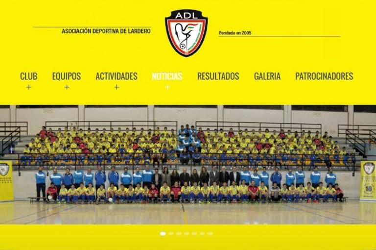 Web de Asociación Deportiva Lardero