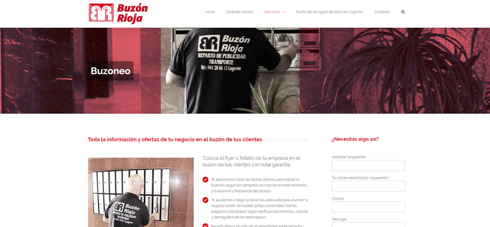 03 Diseño Web Logroño Agencia Buzoneo