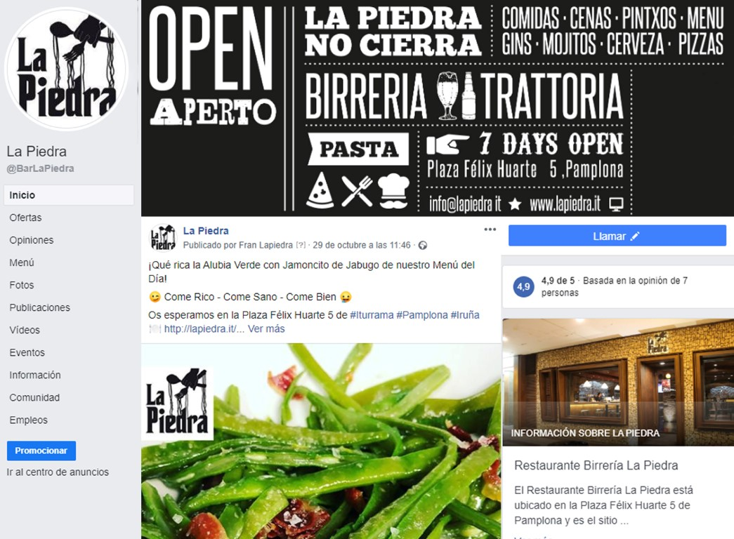 dest Community Manager para Restaurantes