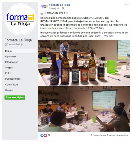 002 Community Manager para Academia cursos formacion